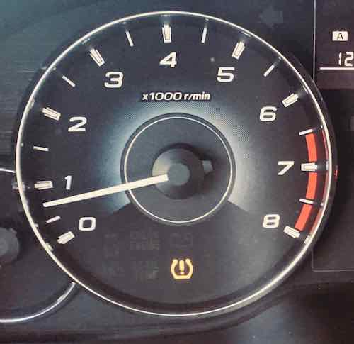 Why is my tire pressure light on?