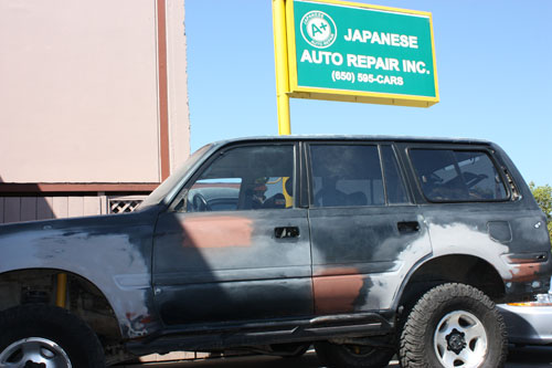 Toyota Land Cruiser – FJ80 Build - A+ Japanese Auto Repair, Inc