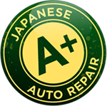 A+ Japanese Auto Repair, Inc. logo